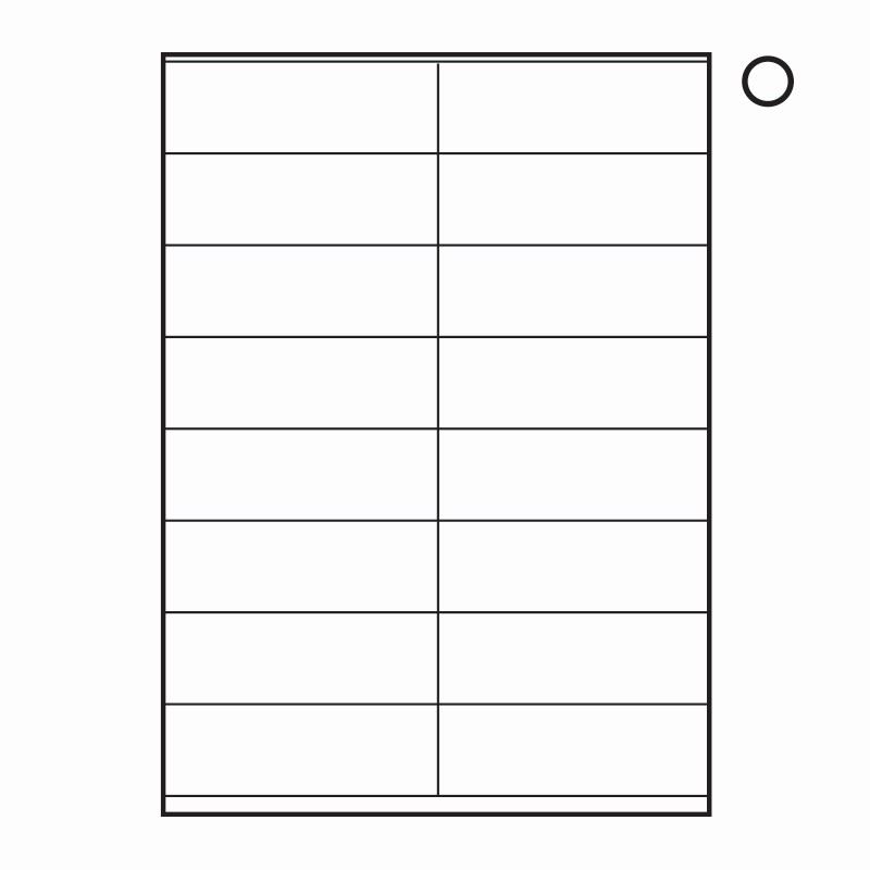 Labels 30 Per Page Template Elegant Label Template 16 Per Sheet