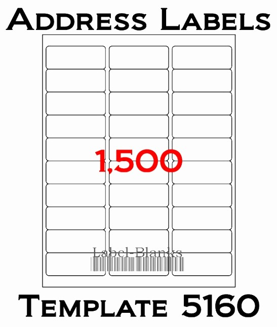 Labels 30 Per Page Template Inspirational 8 Blank Label Templates 30 Per Sheet Ytity