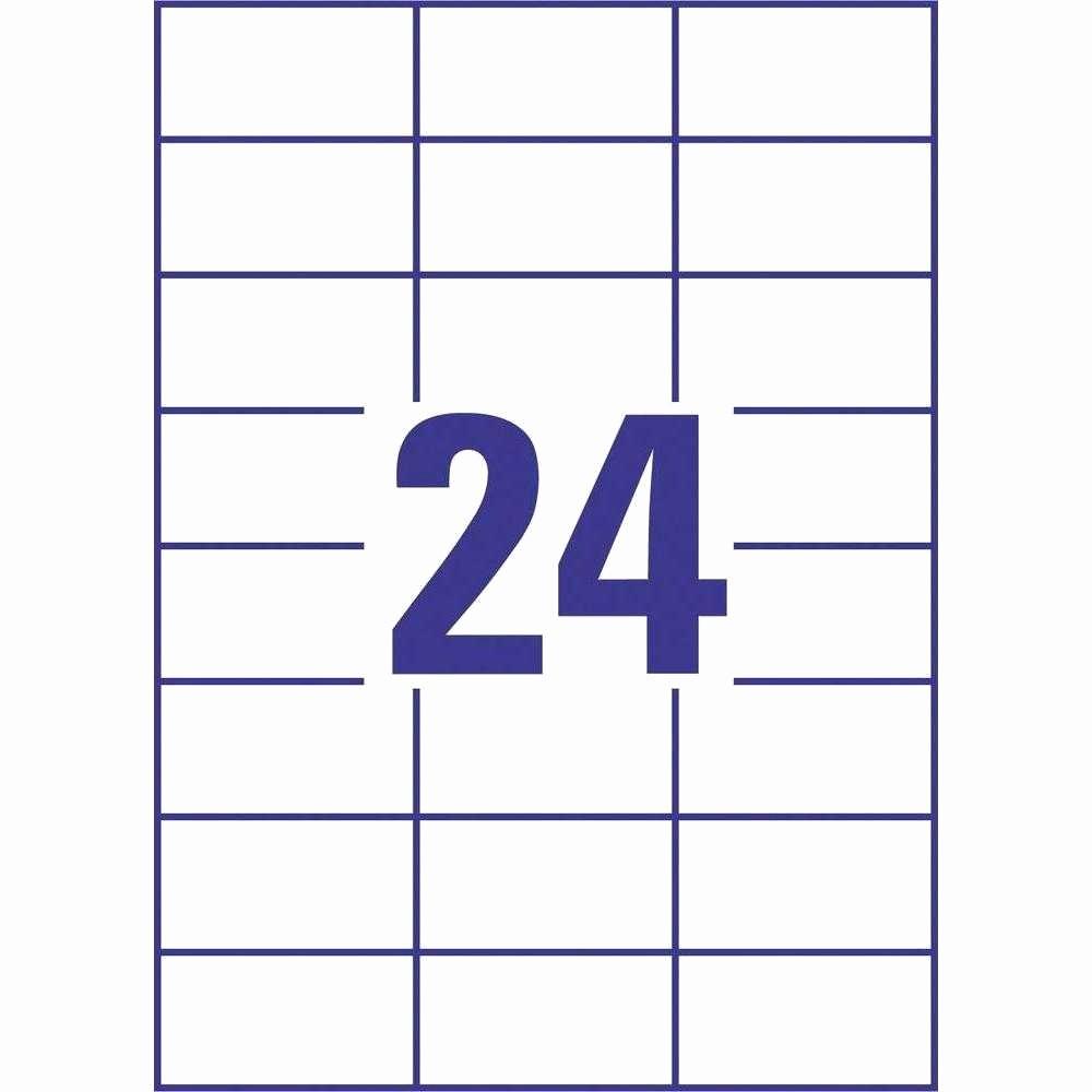Labels Template 30 Per Sheet New 30 Label Template Contegri In 24 Labels Per Sheet