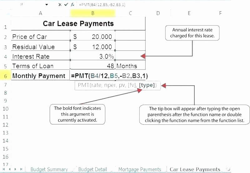 Lease Payment Calculator Excel Template Elegant Amortization Table Extra Payments