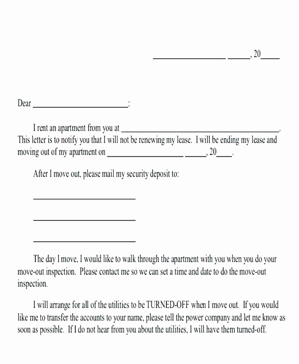 Lease Renewal Notice to Tenant Beautiful Letter Tenant Reference for Entire Like Landlord