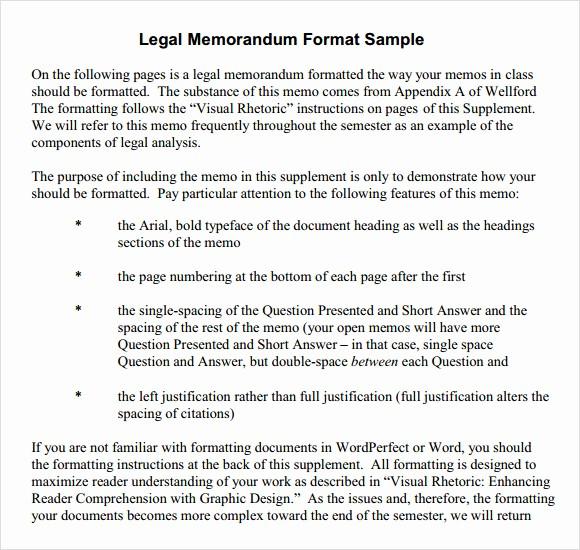 Legal Memo Template Microsoft Word Awesome 6 formal Memorandum Samples