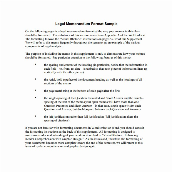 Legal Memo Template Microsoft Word Beautiful 11 Legal Memo Template to Download