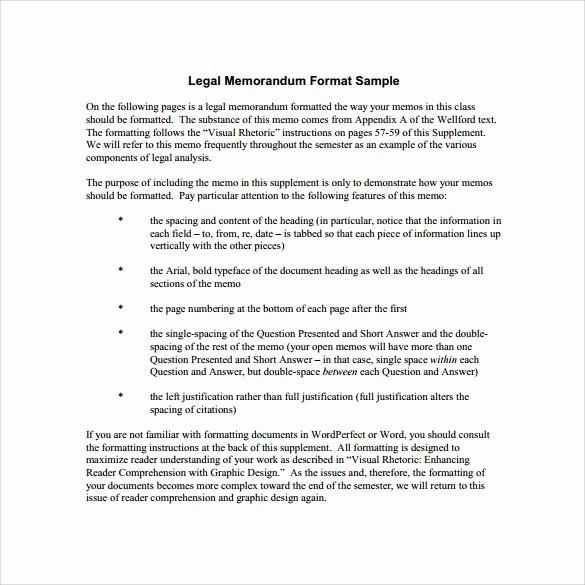 Legal Memo Template Microsoft Word Beautiful 11 Legal Memo Template to Download