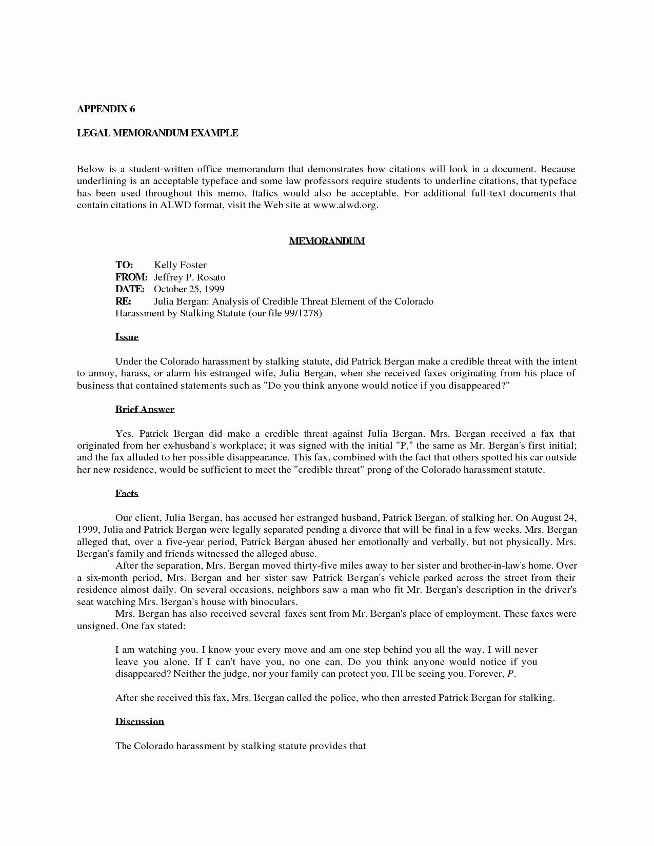Legal Memo Template Microsoft Word Unique 8 Best Of Sample Fice Memo Sample Fice Memo