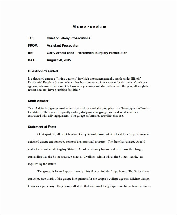 Legal Memo to File Template Elegant Sample Memo 20 Documents In Pdf Word