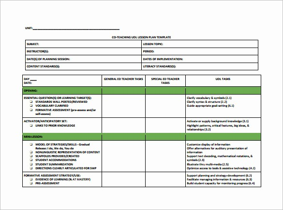 Lesson Plan Template for Teachers Beautiful Lesson Plan Template for Elementary Teachers Templates