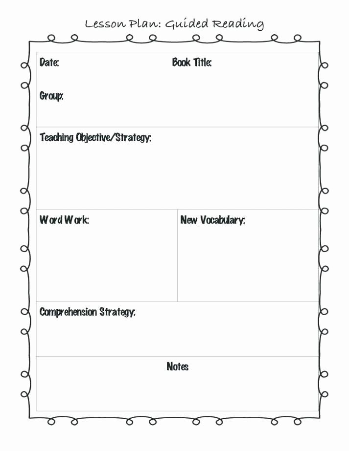 Lesson Plan Template Word Editable Elegant Unit Lesson Plan Templates Lovely Free Template Word Best