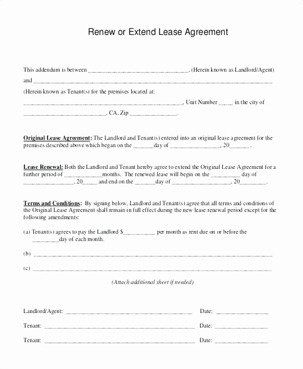 Letter for Not Renewing Lease New Lease Renewal Letter Apartment Template Sample to Tenant