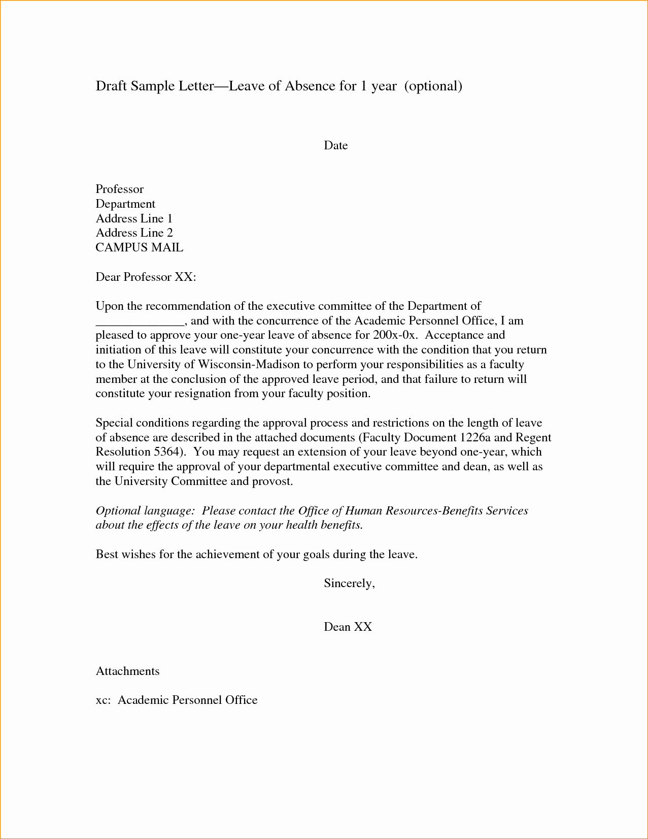 Letter Of Absence to School Best Of 11 Absence Excuse Letteragenda Template Sample