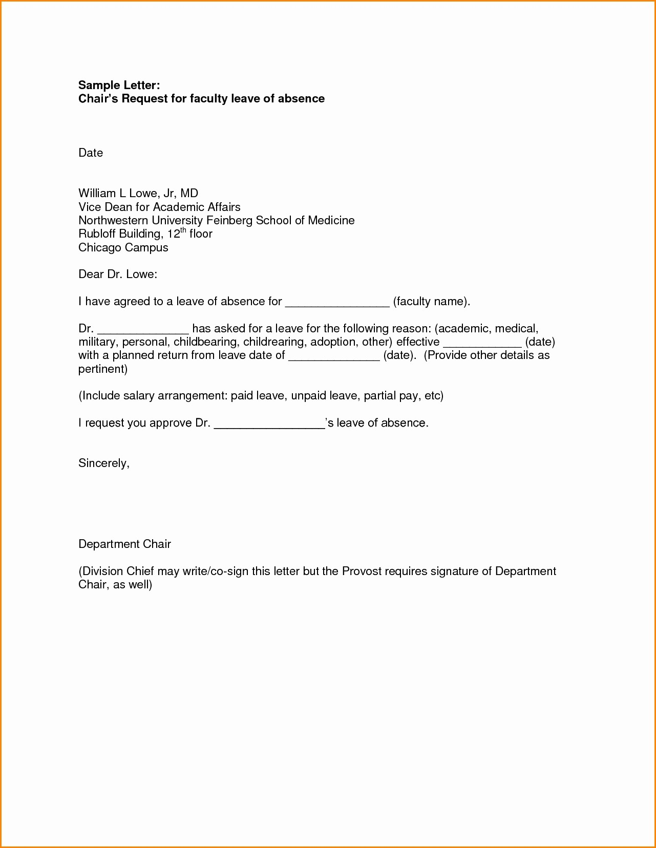Letter Of Absence to School Inspirational formal Letter format for School Students for Leave