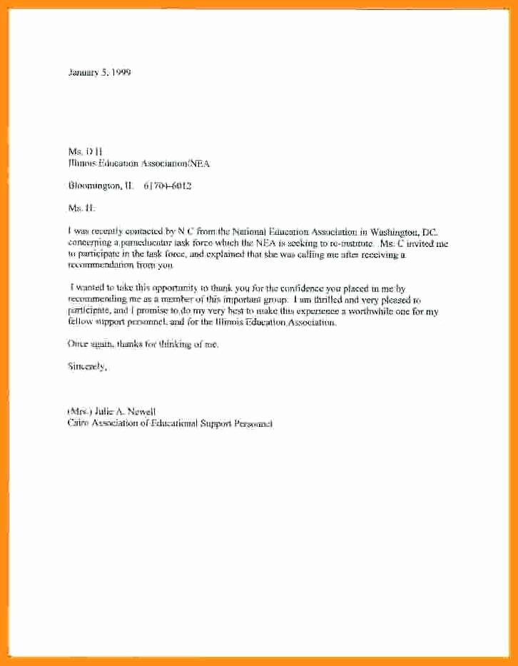 Letter Of Absent to School Beautiful 4 5 Excuse Letter for Being Absent at School