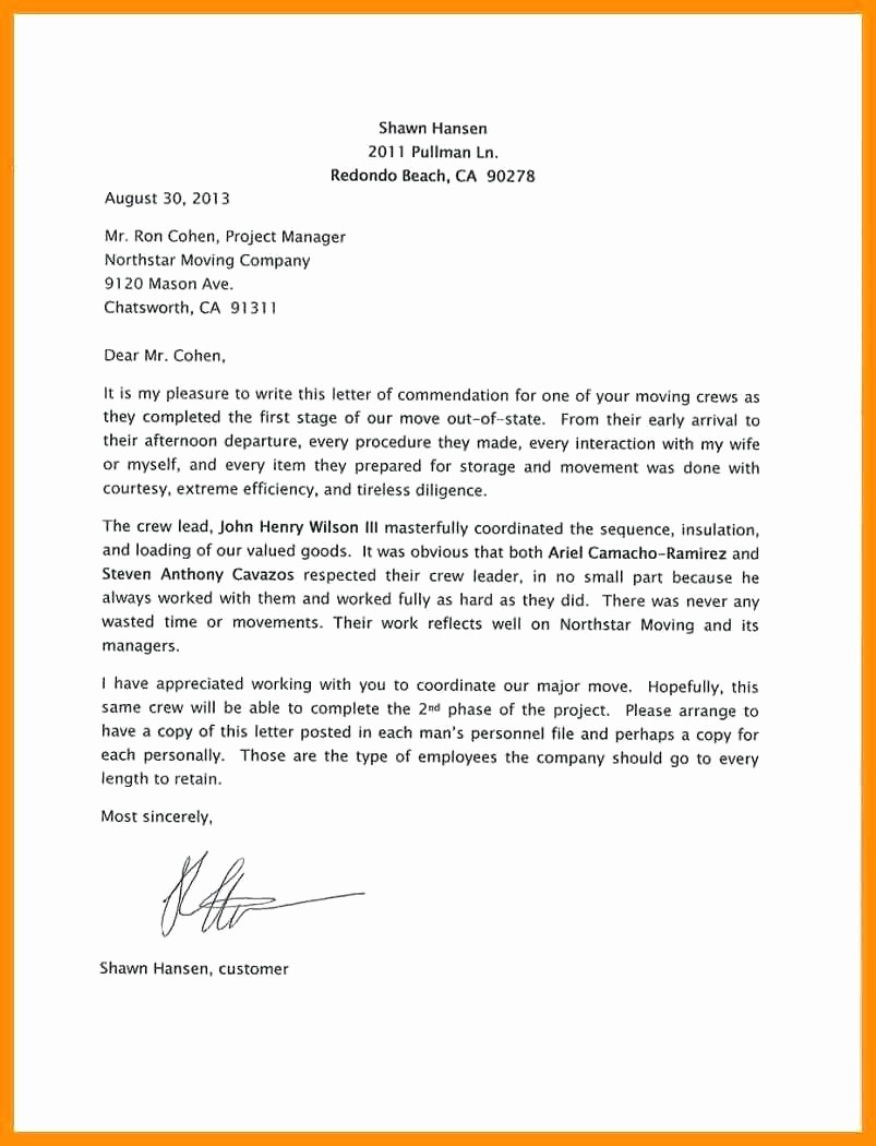 Letter Of Recommendation Employee Template Elegant Template Employment Re Mendation Letter Template