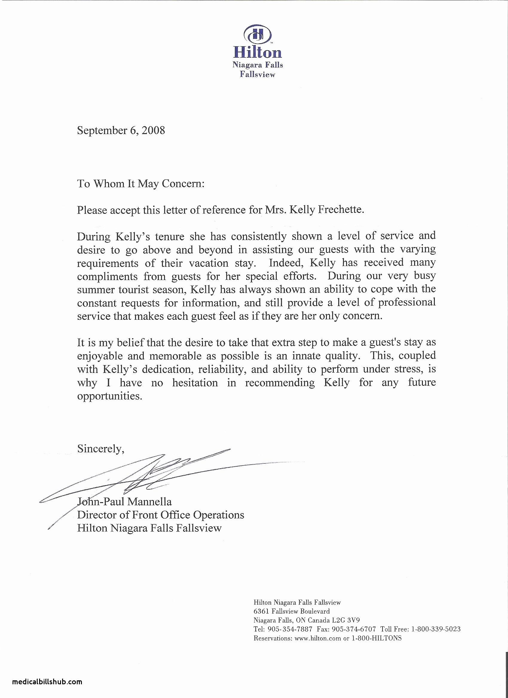 Letter Of Recommendation Employment Template Elegant Re Mendation Letter for Nurse From Supervisor