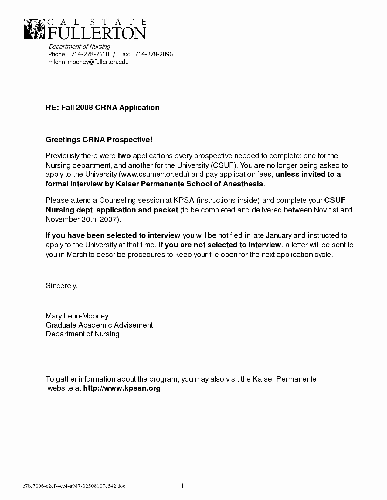 Letter Of Recommendation Employment Template New Free Sample Letter Re Mendation