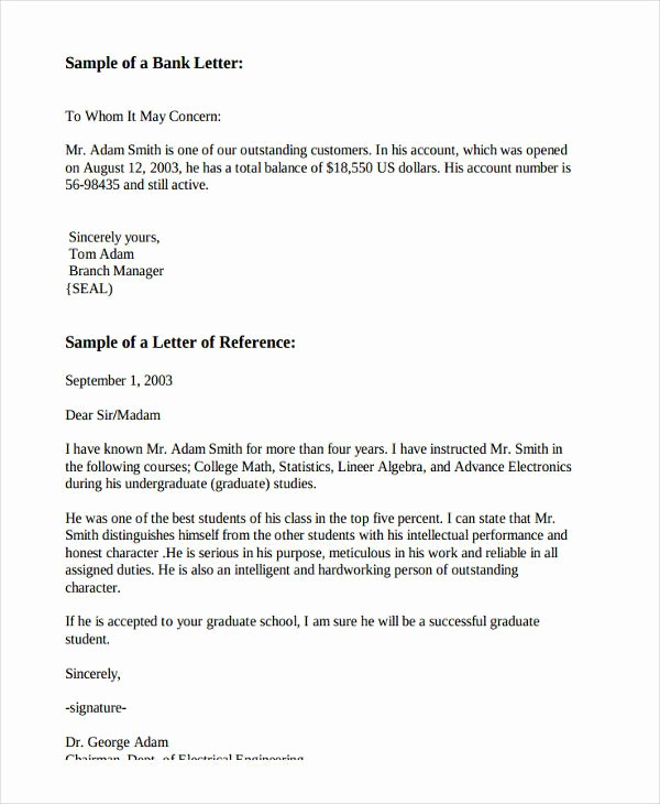 Letter Of Recommendation Employment Template New Sample Re Mendation Letter Employee Performance
