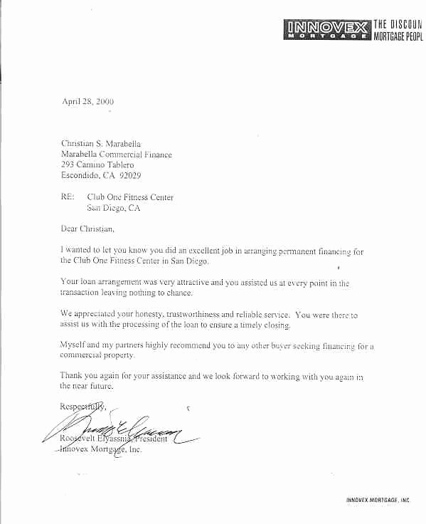 Letter Of Recommendation for Loan Elegant Letters Of Reference