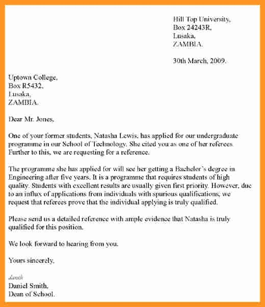 Letter Of Recommendation for Loan Inspirational Letter Re Mendation Students Cover Letter Samples