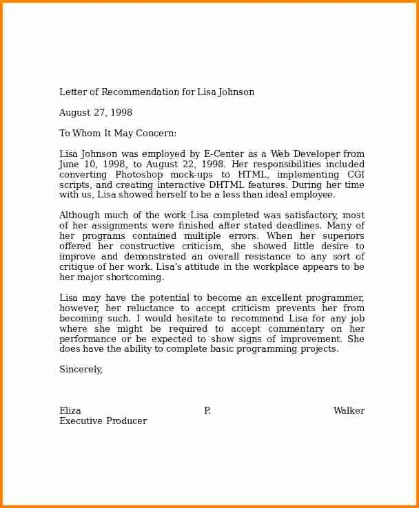 Letter Of Recommendation Letter Example Awesome 6 Examples Of Professional Letters Of Re Mendation