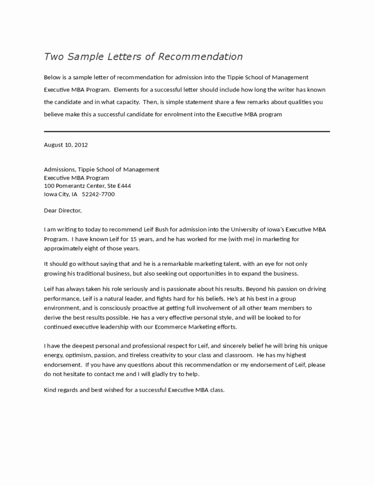Letter Of Recommendation with Letterhead Beautiful Letters Of Re Mendation for Employment Free Download