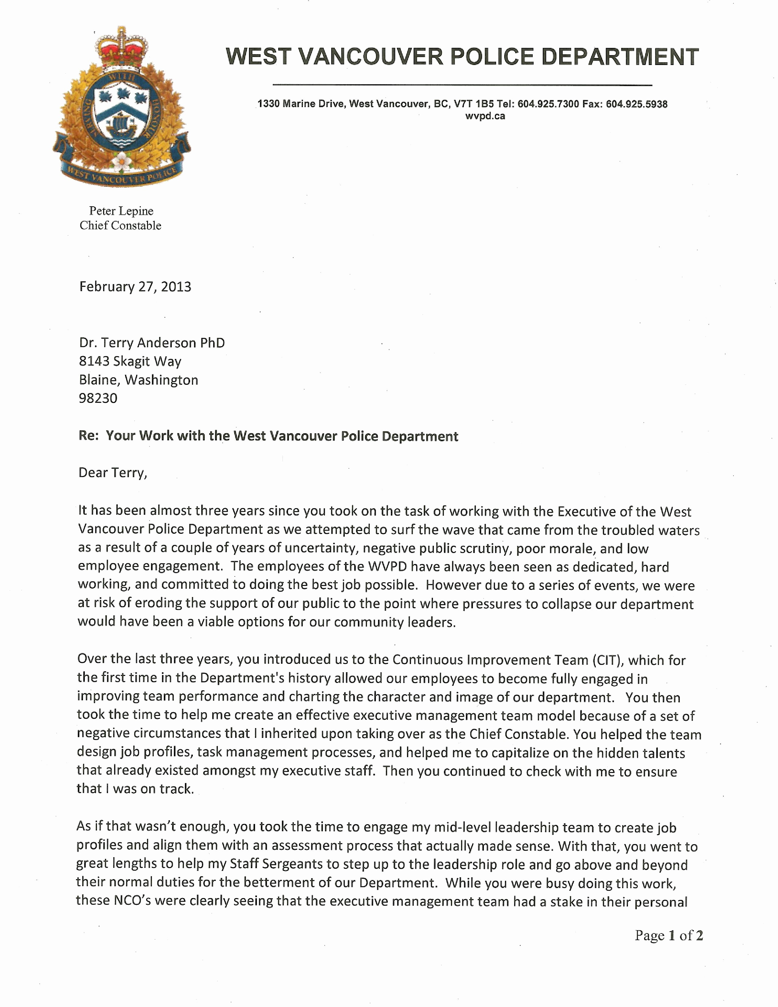 Letter Of Recommendation with Letterhead Best Of Letters Of Re Mendation – Consulting Coach – anderson