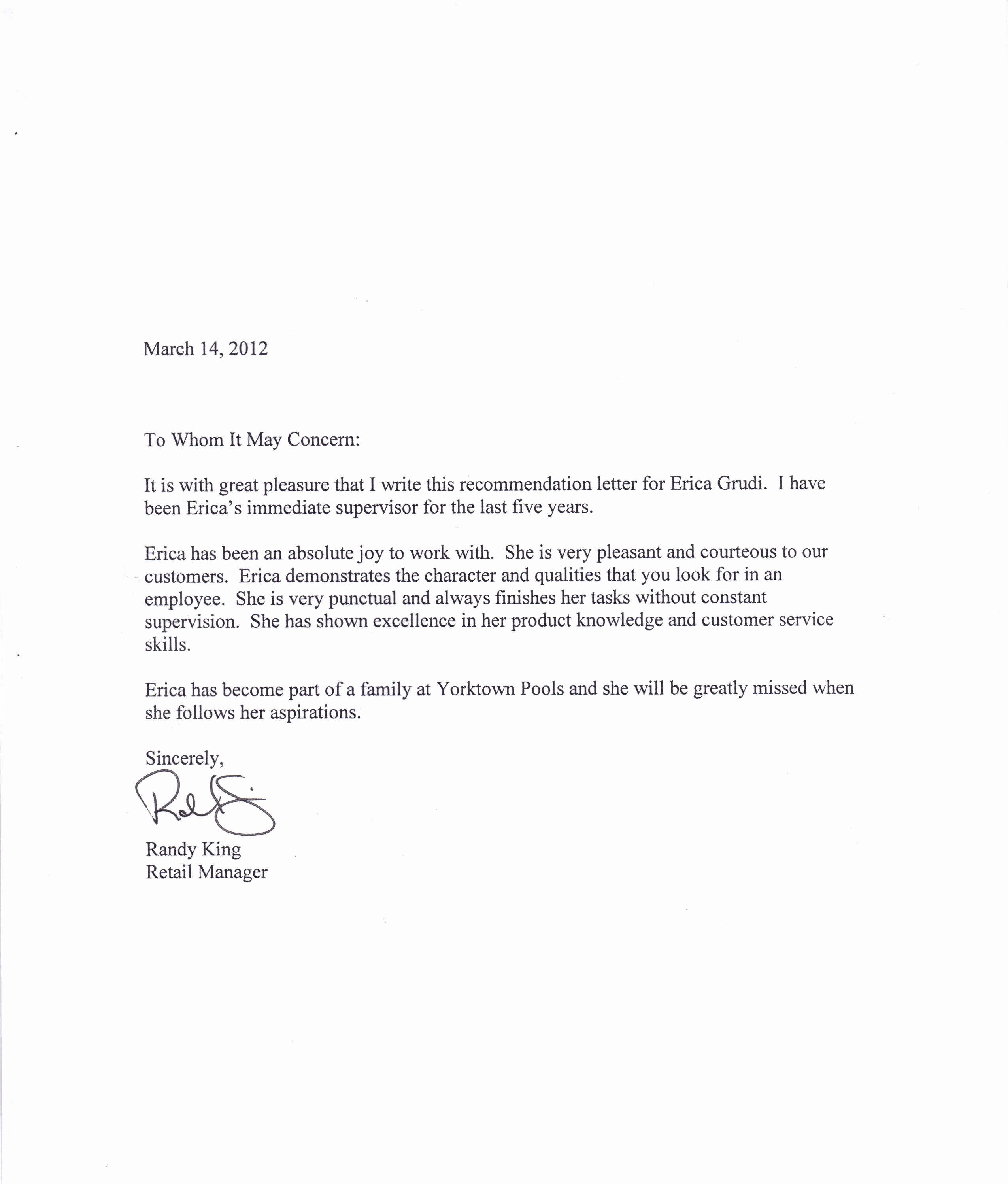 Letter Of Recommendation with Letterhead Inspirational Tips for Writing A Letter Of Re Mendation