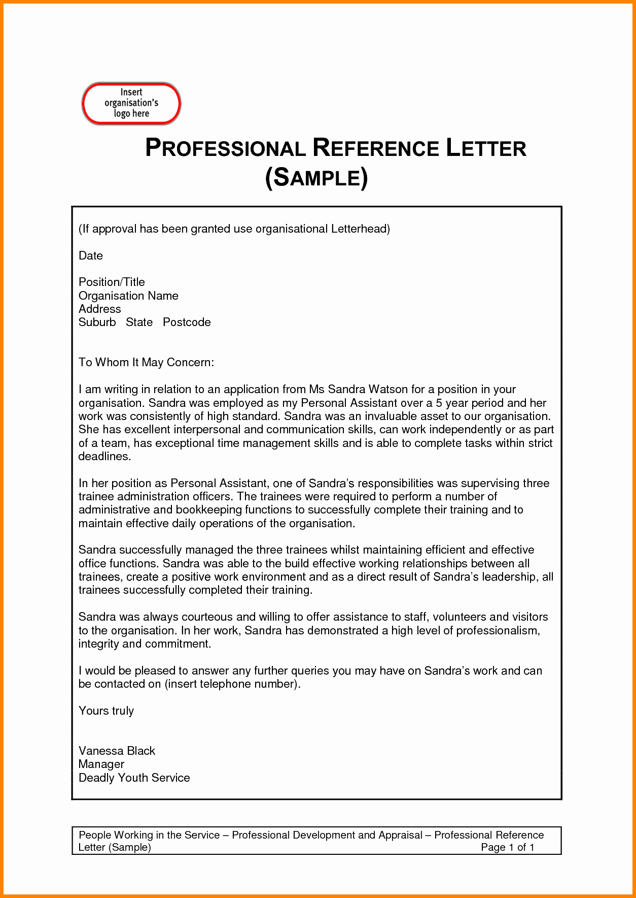Letter Of Recommendation Word Template Unique Template Reference Letter E with Sample Invoice