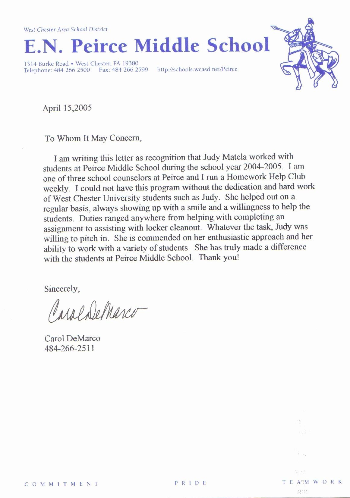 Letter Of Reference for Teachers Lovely Sample Letter Of Re Mendation for Teacher