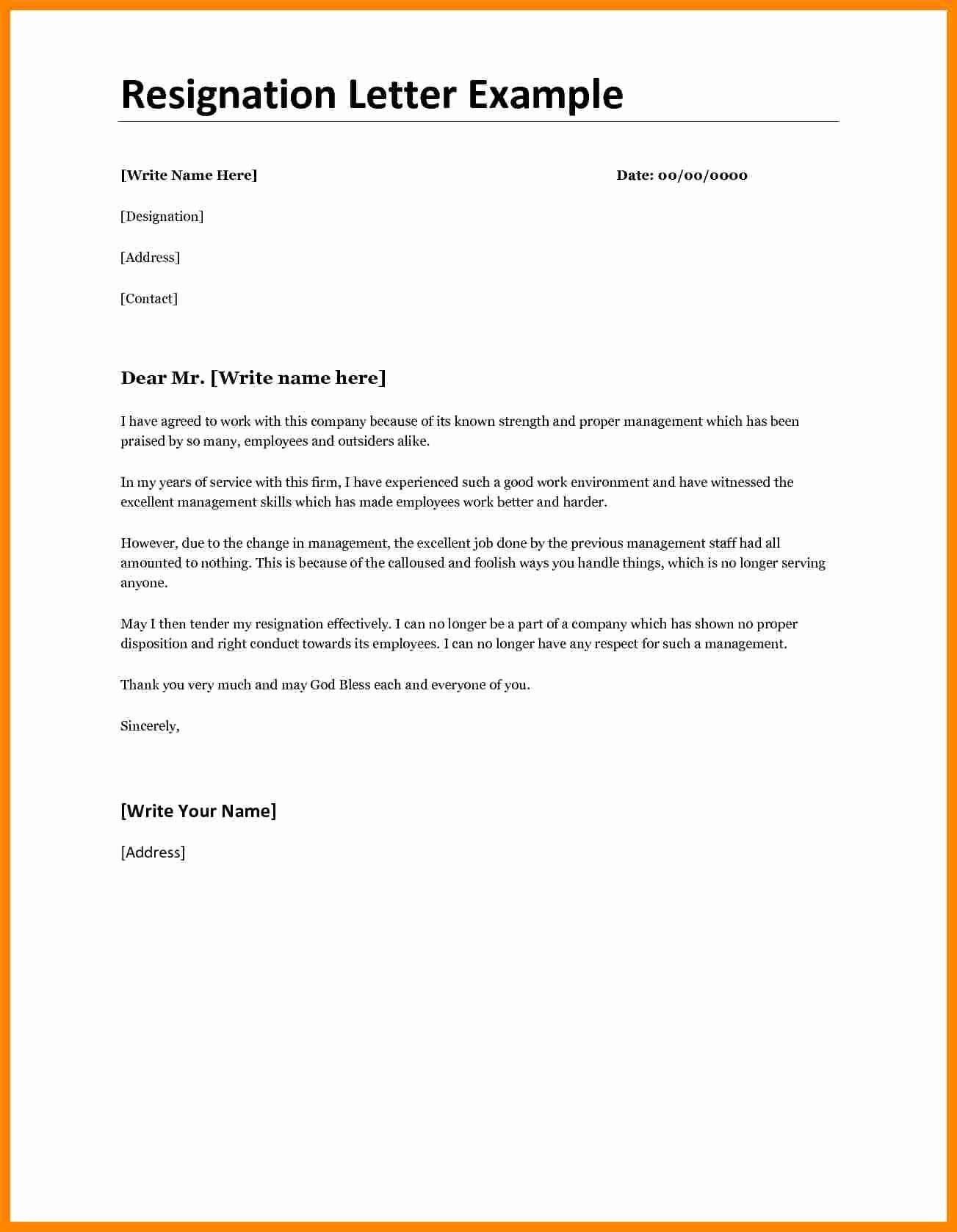 Letter Of Resignation Retirement Example Luxury 11 Notice Letters Of Resignation Due to Retirement