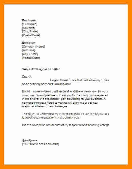 Letter Of Resignation Template Microsoft Beautiful 11 Letter Of Resignation Template Microsoft