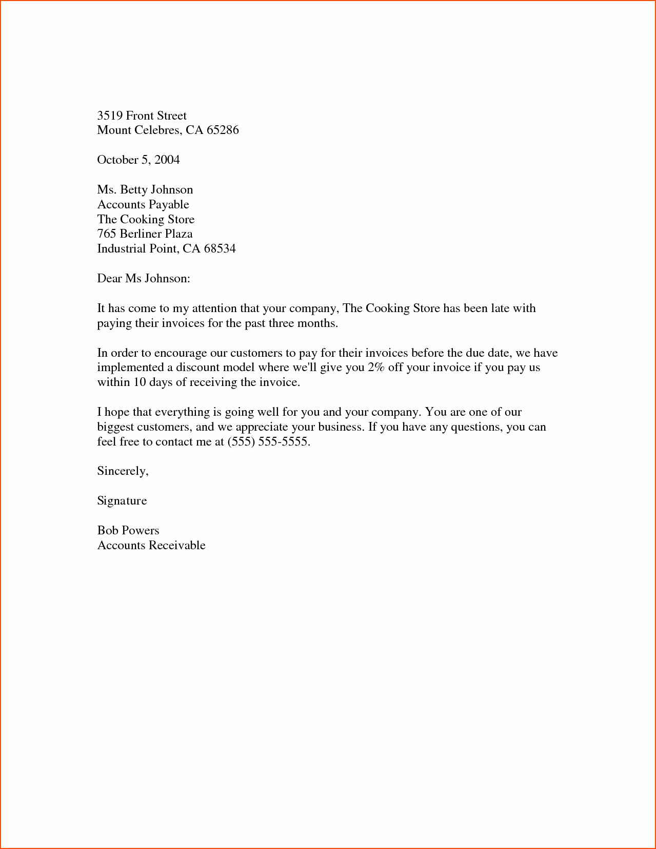 Letter Template for Microsoft Word Best Of 5 Word Business Letter Template Bookletemplate