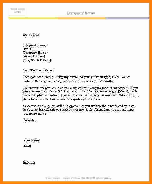 Letter Template for Microsoft Word Unique 9 Microsoft Word Plaint Letter Template