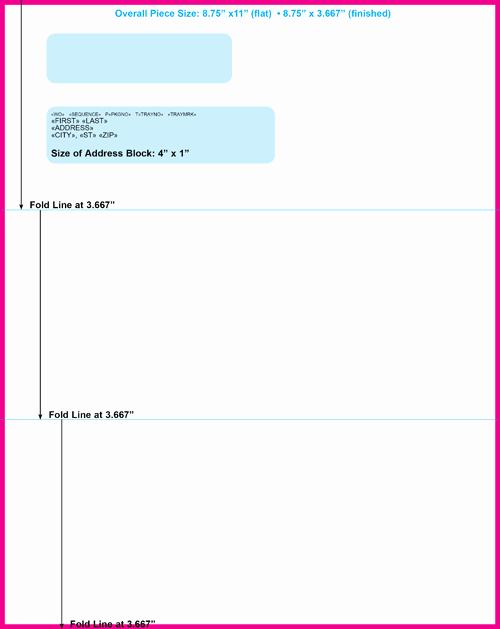 Letter Template for Window Envelopes Elegant Letter Template for Window Envelope