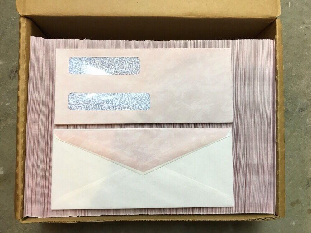 Letter Template for Window Envelopes Elegant Qty 500 Double Window 24lb White Wove Letter Size 3 3 4 X