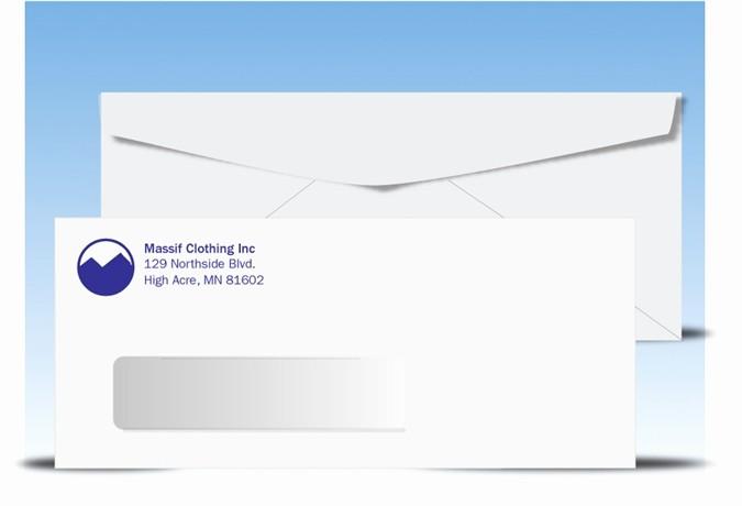 Letter Template for Window Envelopes Fresh Envelope Sizes