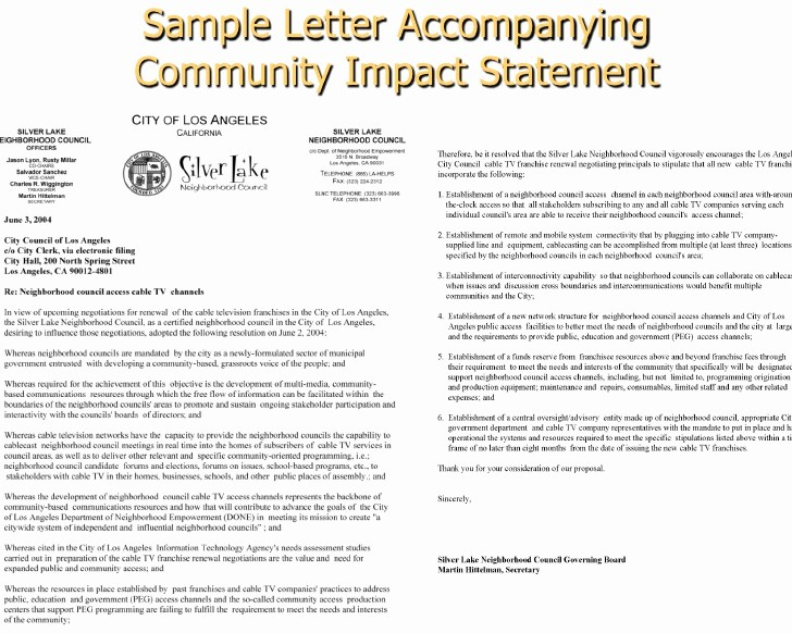 Letter to City Council Template Elegant Working with City Council Mittees