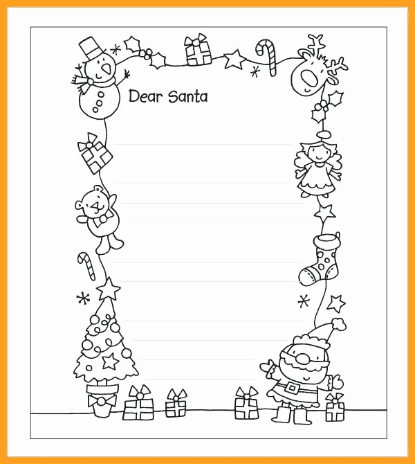 Letter to Santa Claus Templates Best Of Reply Letter Template Santa Beard Countdown Printable From