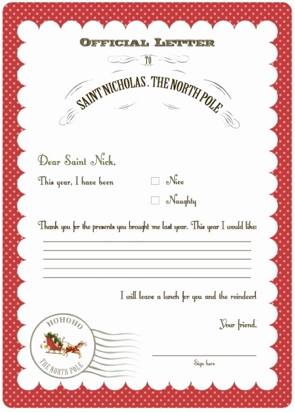 Letter to Santa Claus Templates Best Of Whatever Dee Dee Wants She S Gonna It Christmas