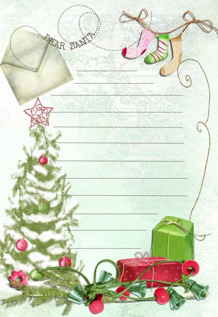 Letter to Santa Claus Templates Elegant touching Hearts Letters to Santa Claus Templates Free