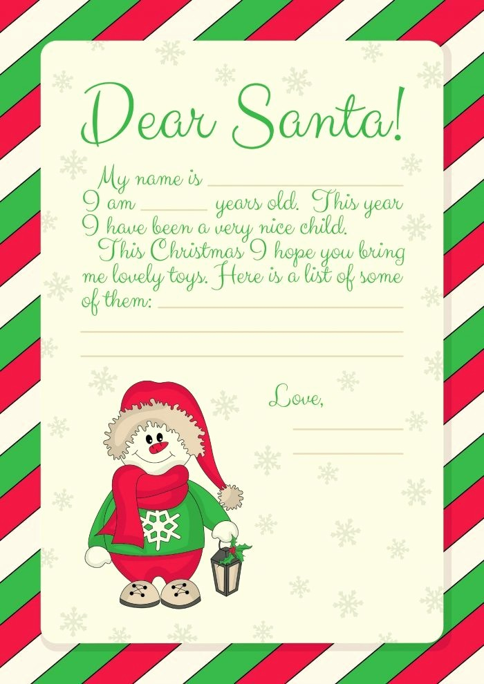 Letter to Santa Claus Templates Lovely Letter From Santa Template