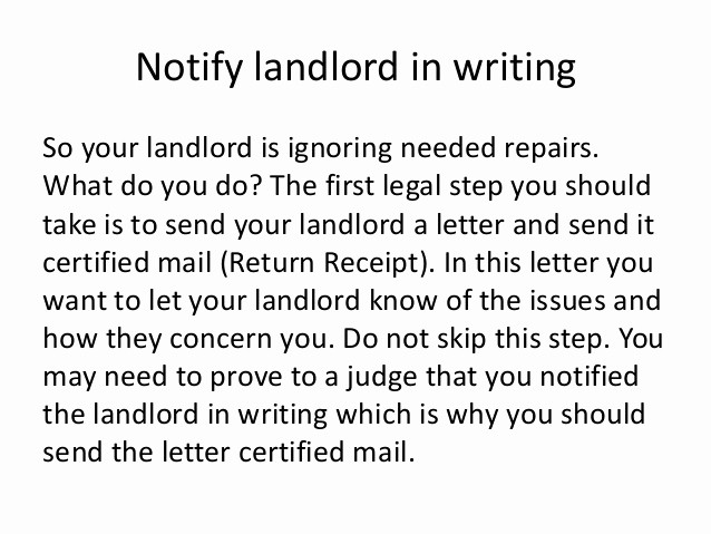 Letter to Tenant About Repairs Unique Sample Letters to Request A Rent Reduction From Your
