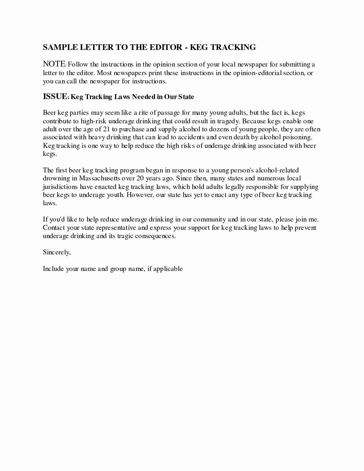 Letter to the Editor Templates Awesome format for A Letter to the Editor Best Template Collection
