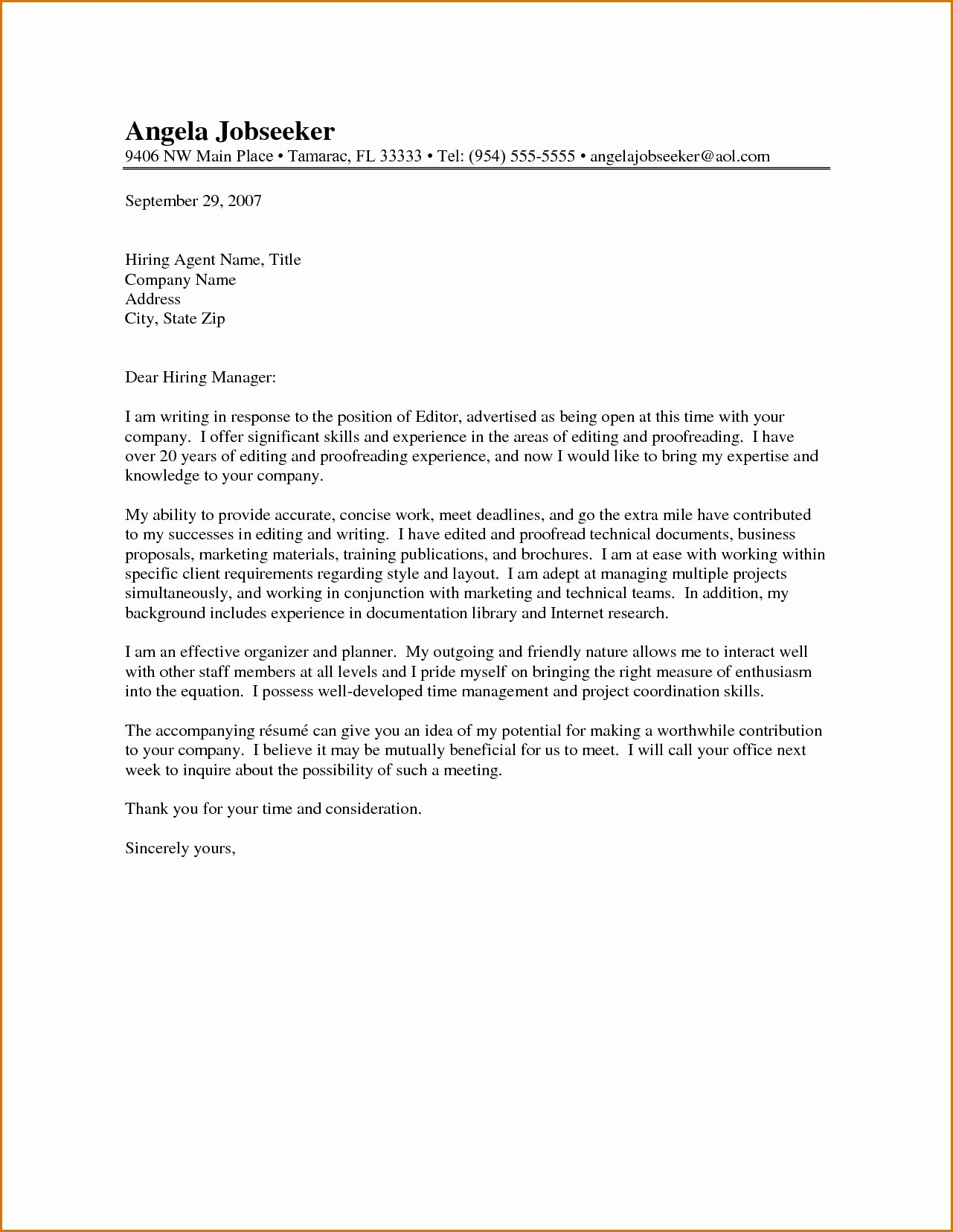 Letter to the Editor Templates Fresh Editing Letters to the Editor