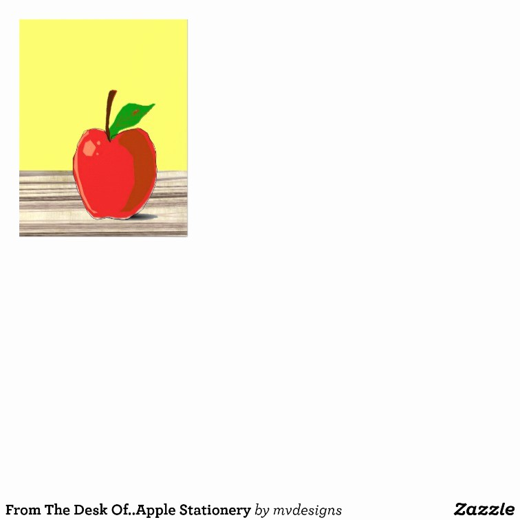 Letterhead From the Desk Of Beautiful From the Desk Apple Stationery Letterhead