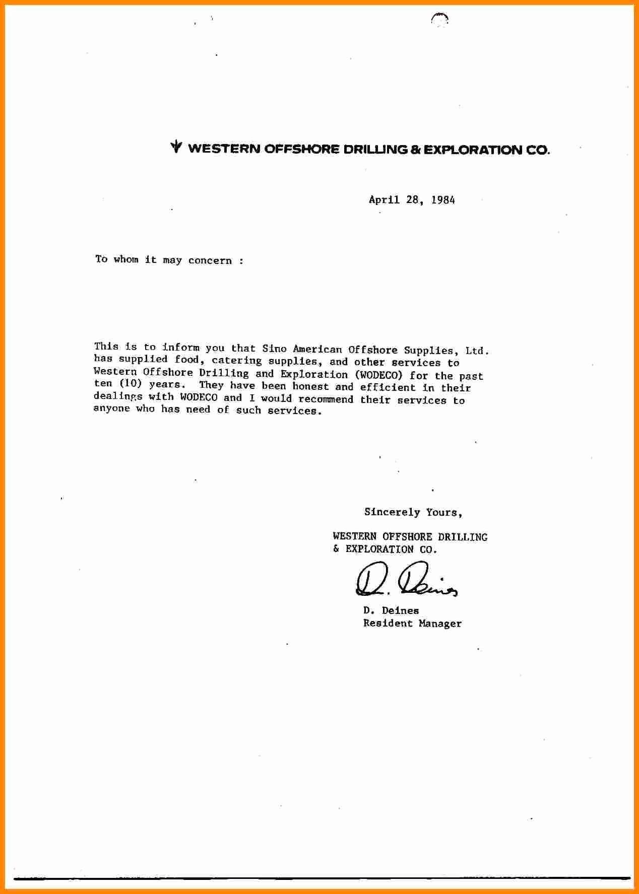 Letters Of Recommendation format Samples Fresh 9 General Letter Of Re Mendation Samples