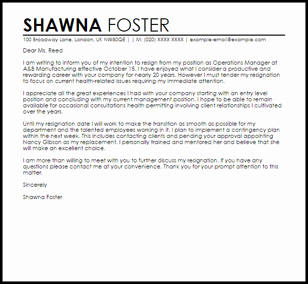 Letters Of Resignation for Retirement Luxury Retirement Letter Resignation