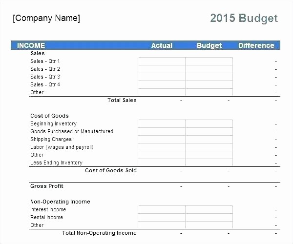 Line Item Budget Template Excel Awesome Related for Non Profit Bud Template Line Item