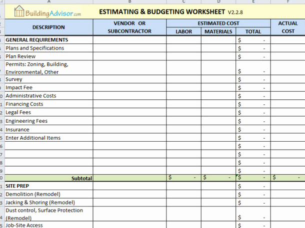 Line Item Budget Template Excel Lovely Line Item Bud Template Xls