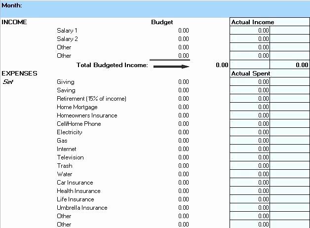 Line Item Budget Template Excel New Weekly Bud Excel A Planner Sample Line Item Bud
