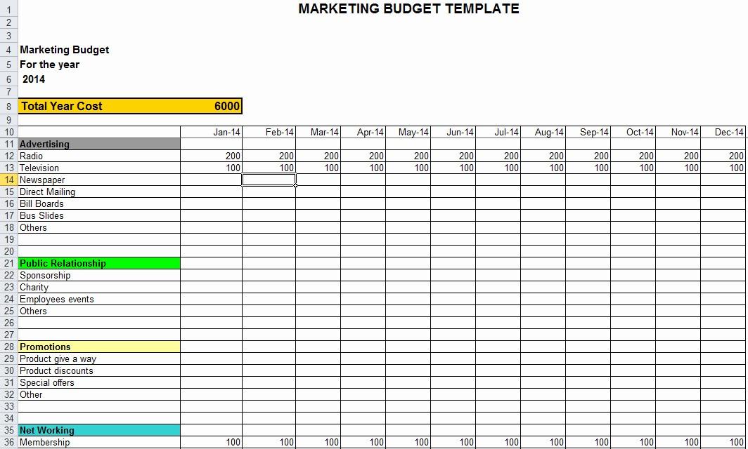 Line Item Budget Template Excel Unique Line Item Bud Template Excel Templates Collections